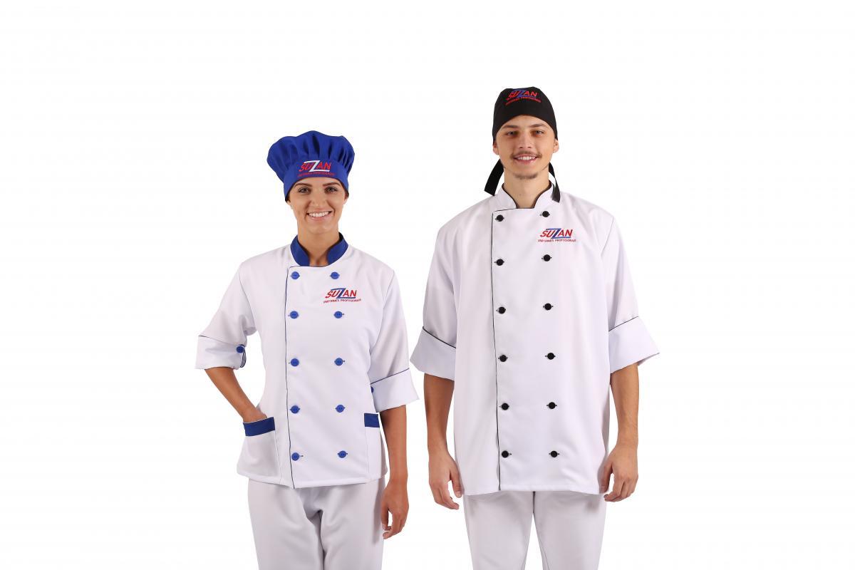 D Lm Como Uniforme Profissional Para Chefes De Cozinha Suzan