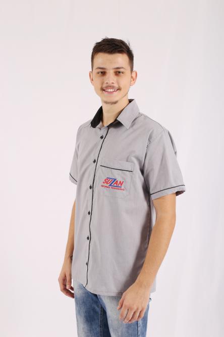 08360fd769 Camisa social manga curta masculino | Suzan Uniformes